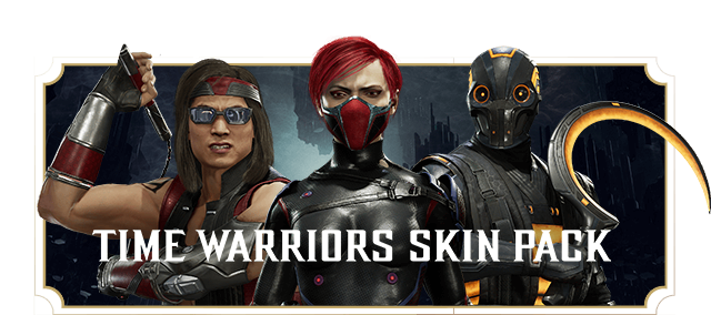 TIME WARRIORS SKIN PACK
